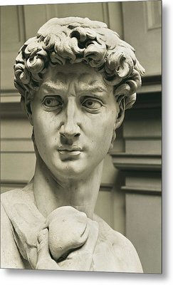 Michelangelo 1475-1564. David Metal Print