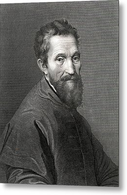 Michelangelo Metal Print by Collection Abecasis