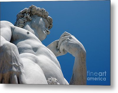 Michelangelos David 2 Metal Print