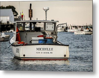 Michelle Metal Print by Dave Cleaveland