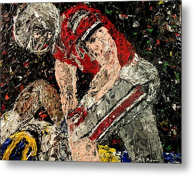 Michigan Defeated By Ohio State  Metal Print