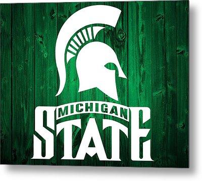 Michigan State Barn Door Metal Print