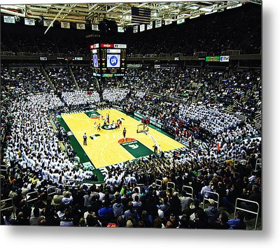 Michigan State Spartans Jack Breslin Student Events Center Metal Print
