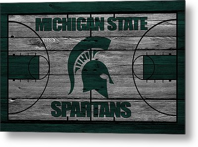 Michigan State Spartans Metal Print by Joe Hamilton