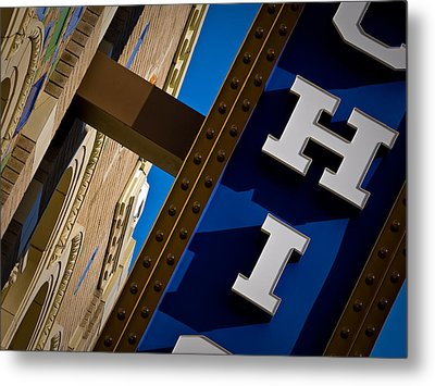Michigan Theater Marquee Metal Print by James Howe