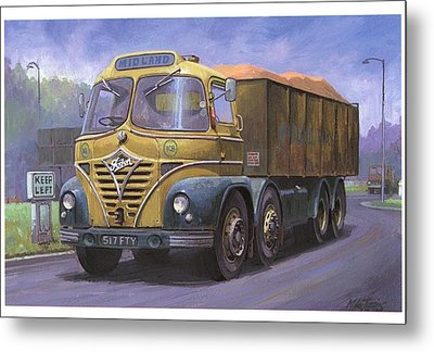 Mickey Mouse Foden. Metal Print by Mike  Jeffries