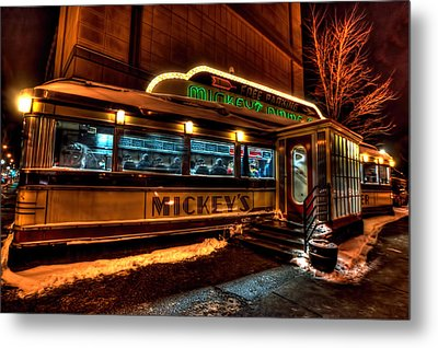 Mickey's Diner St Paul Metal Print