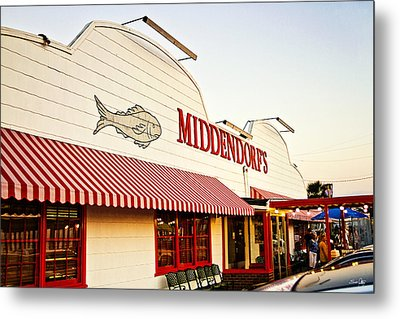 Middendorf's Metal Print by Scott Pellegrin
