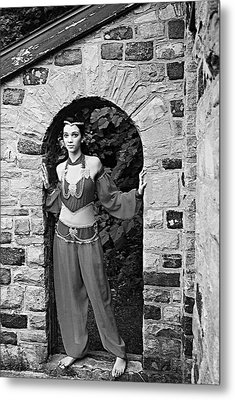 Middle Eastern Princess 2 Metal Print by Stephanie Grooms