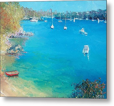 Middle Harbour Sydney Metal Print by Jan Matson