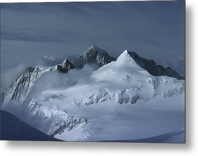 Midnigh Tview From Vinson Massif Metal Print