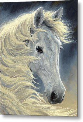 Midnight Glow Metal Print by Lucie Bilodeau