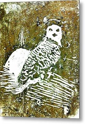 Midnight Owl Metal Print by Shabnam Nassir