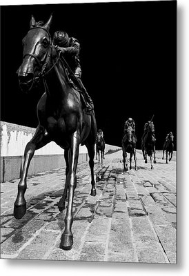 Midnight Ride Metal Print by Wendell Thompson