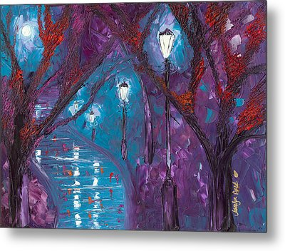 Midnight Soliloquy  Metal Print by Jessilyn Park