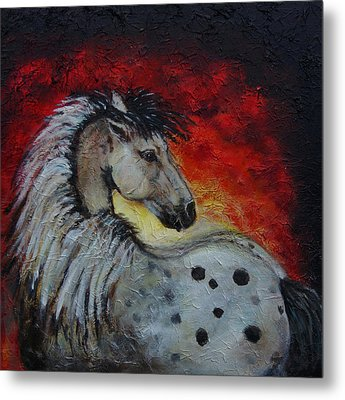 Midnight Sun Metal Print by The Art With A Heart By Charlotte Phillips