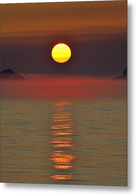 Midnight Sun Metal Print
