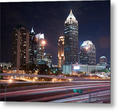 Midtown Atlanta Metal Print