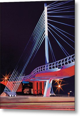 Midtown Greenway Sabo Bridge Metal Print