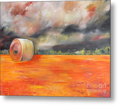 Metal Print featuring the painting Midwest Grandeure by PainterArtist FIN