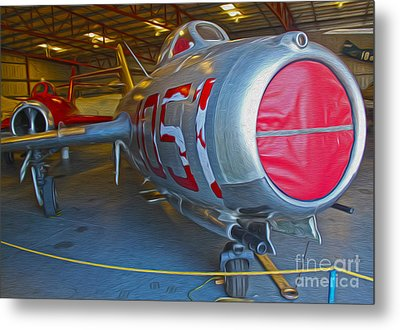 MIG Metal Print by Gregory Dyer