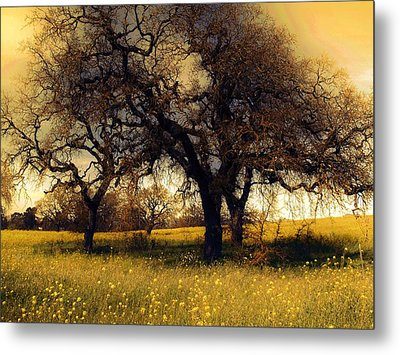 Might Oak Metal Print