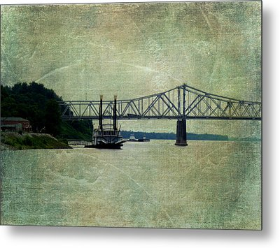 Mighty Mississippi Metal Print by Terry Eve Tanner