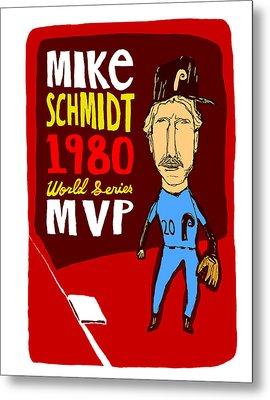 Mike Schmidt Philadelphia Phillies Metal Print
