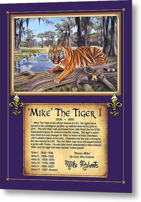 Mike The Tiger I Metal Print