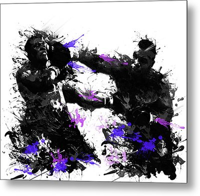 Mike Tyson Metal Print by Bekim Art