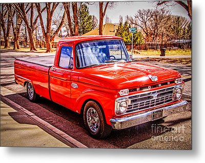 Mike's 66 Metal Print by Bob and Nancy Kendrick