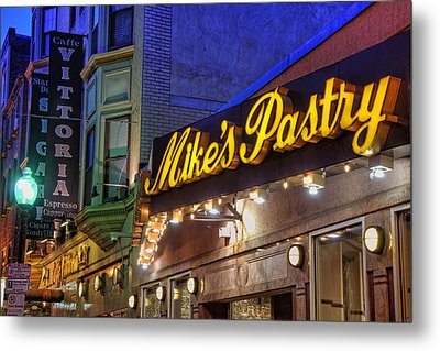 Mike's Pastry Shop - Boston Metal Print by Joann Vitali