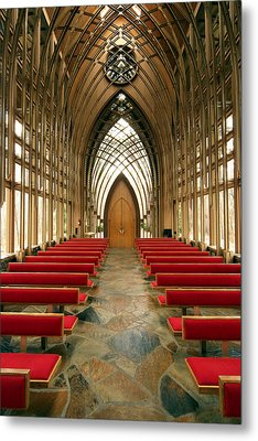 Mildred Cooper Chapel-1 Metal Print by Maxwell Amaro