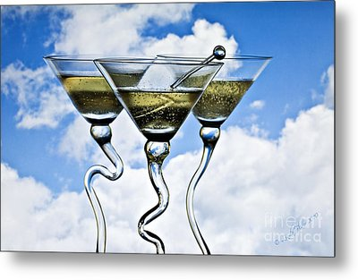 Metal Print featuring the photograph Mile High Club by Linda Blair