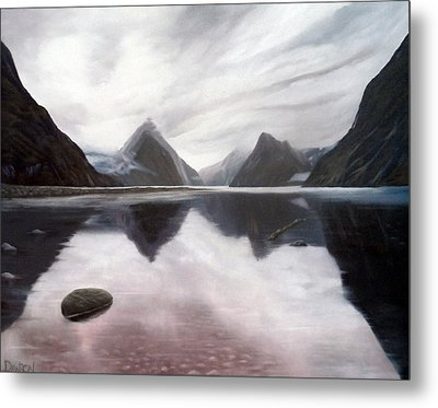 Milford Sound New Zealand Metal Print by Dawson Taylor