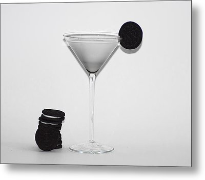 Milk And Cookies Metal Print by Bill Cannon