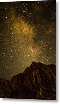 Milky Sky Metal Print by Mike Schmidt
