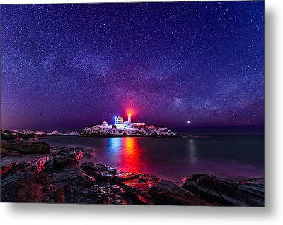Milky Way Comeback Metal Print by Michael Blanchette