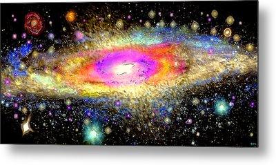 Milky Way Metal Print by Daniel Janda