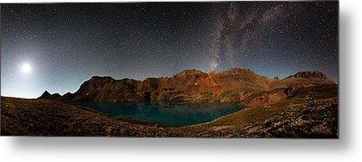 Milky Way Dreams At Columbine Lake Metal Print by Mike Berenson