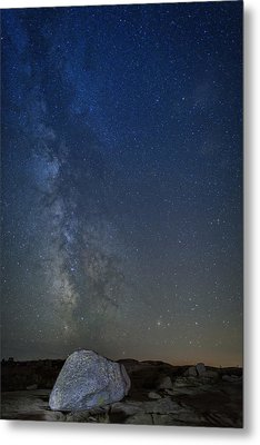 Milky Way Over Cadillac Metal Print by Rick Berk