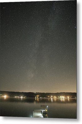 Milky Way Spills Into Conesus Metal Print
