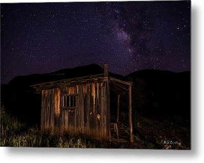 Milky Way Rising Metal Print by Bill Cantey