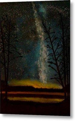 Milky Way Metal Print by Steve Hermann