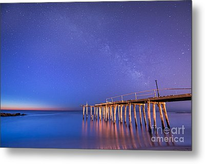 Milky Way Sunrise Metal Print