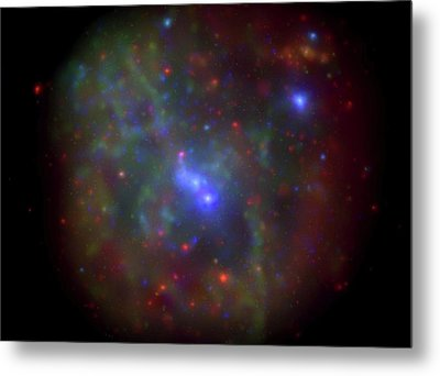 Milky Way X-ray Activity Metal Print by Nasa/swift/n. Degenaar (univ. Of Michigan)