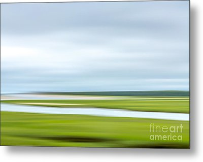 Mill Creek Marsh 1 Metal Print by Susan Cole Kelly Impressions
