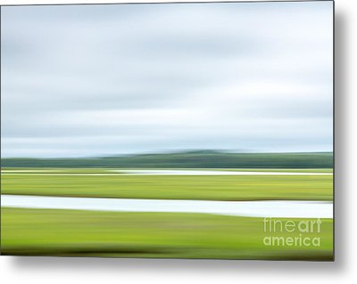 Mill Creek Marsh 2 Metal Print by Susan Cole Kelly Impressions