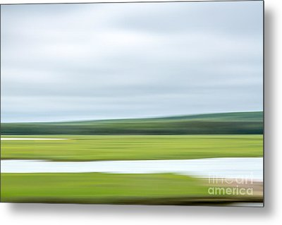 Mill Creek Marsh 3 Metal Print by Susan Cole Kelly Impressions
