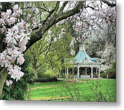 Mill Creek Park In Spring Metal Print by Monnie Ryan